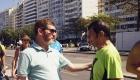 Juventude em Copacabana